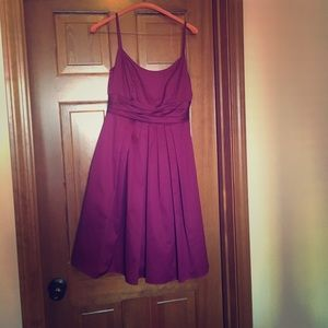 David's Bridal sz 2 Bridesmaid Dress berry